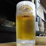 やすらぎ - 生ビール