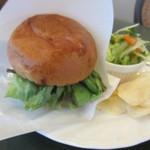 ココス - ハンバーガーのプレート