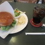 ココス - ハンバーガーセット 780円