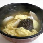 喫茶マコ - 名物の雑煮