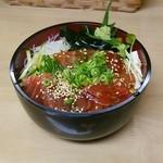 真魚 - 料理写真:漬けまぐろ丼