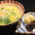 北新地 湯木 - 2015.1 天然クエ鍋の雑炊