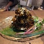 ナンクル食堂 - はんごろしキムチ(野沢菜キムチ+クリームチーズ)