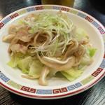太龍 - 豚耳の塩胡椒炒め