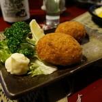 地雷也 - 牡蠣コロッケ