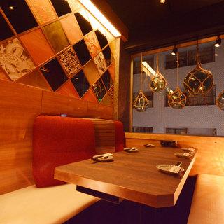 完全個室は少人数から最大30名様まで対応。各種御宴会に最適!