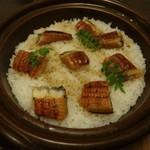 35542931 - 鰻と三種薬味の土鍋御飯