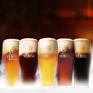 YEBISU樽生5種チョッと贅沢なひと時