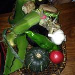 35546944 - 焼き焼き野菜達