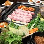 上野 韓国料理 兄夫石焼屋 - 野菜村セット