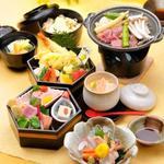 ふく和 - 春の六角弁当
