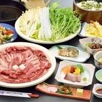 割烹 一の矢 - 【歓送迎会・期間限定】4,500円すきやき鍋コース(税別