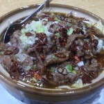 華宴 - ・水煮牛肉(牛肉の激辛煮) 900円
