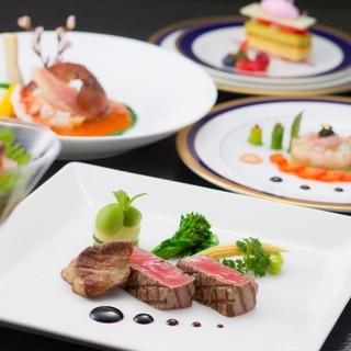 フレンチ&中国料理のハーモニー