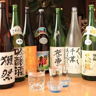 日本酒・焼酎も多数ご用意!飲み放題付コースは4,000円~♪