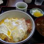 松葉屋 - トンかつ丼 800円