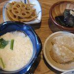 35556719 - 県農御膳小鉢のアップ(2014.04)