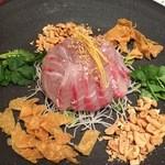 honkonkaisenryourikishina - お刺身サラダ