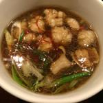 35559523 - ホルモンつけ麺のつけ出汁
