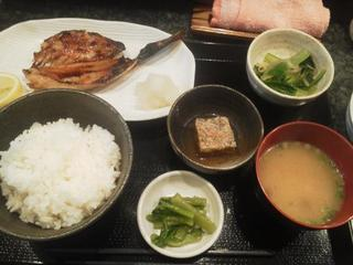 うま煮や - 焼き魚定食(きんき炙り)800円
