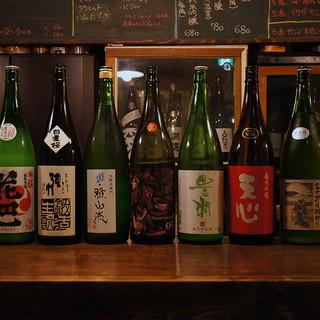 レアな日本酒も楽しめるコースもおすすめ☆