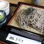 出雲そば きがる - きがる・ざるそば(挽きぐるみ)¥780(2010.03)
