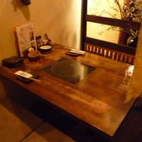ごま厨-☆2階の掘り炬燵なお席もなかなか雰囲気◎☆