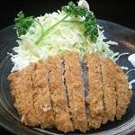 とんかつ丸福 - メンチカツ定食