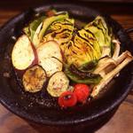 石窯バール デコレ - 窯で焼く、焼き野菜