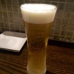 石窯バール デコレ - キンキンビール