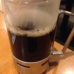 中国料理 百楽 - ホットコーヒー