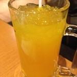中国料理 百楽 - バヤリスオレンジ