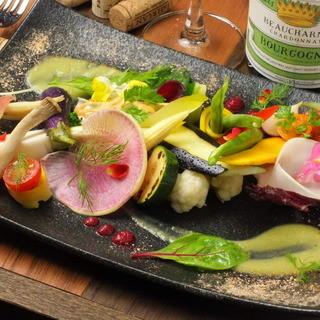 有機農園けのひの新鮮野菜