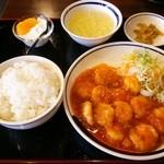35575645 - エビチリ定食