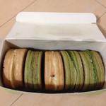 甘党道楽菓匠茶屋  - 料理写真:大判焼き奮発して5種類買いました