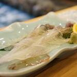 河太郎 - イカの活け作り