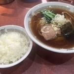銀座亭 - ラーメンライス
