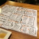 串かつ 団 - メニュー