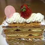 Nishimura - 料理写真:ミルフィーユ 432円