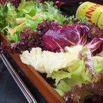 上野 韓国料理 兄夫石焼屋 - 野菜村セットの野菜