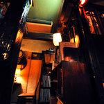 猿楽珈琲 - 1番テーブルからの眺め