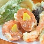 お昼のお座敷天ぷらコース