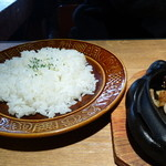 35580534 - 北海道産 牛リブロースステーキのライス