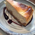 ティーダ カフェ - チーズケーキもしっとりしていて美味しい❤︎