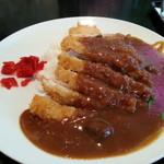 大銀カフェレストラン - カツカレー 800円