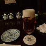 チャイナムーン - プレミアムモルツ生ビール