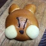 プレスト - 駅長がちゃんこパン 170円