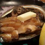 鮨処 竜敏 - アワビ バター