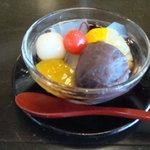 カフェ三菓亭 - セットの選べるデザート