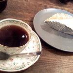 ストーリーテラー カフェ - カフェセット550円